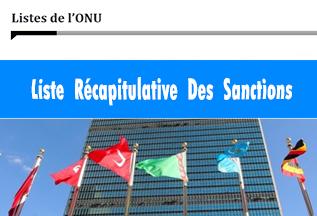 Listes de l'ONU